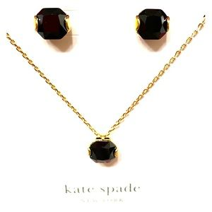 ✨NWT Kate Spade ♠️ Necklace & Earring Set
